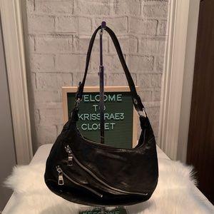 Nine West Leather Zipper Bag